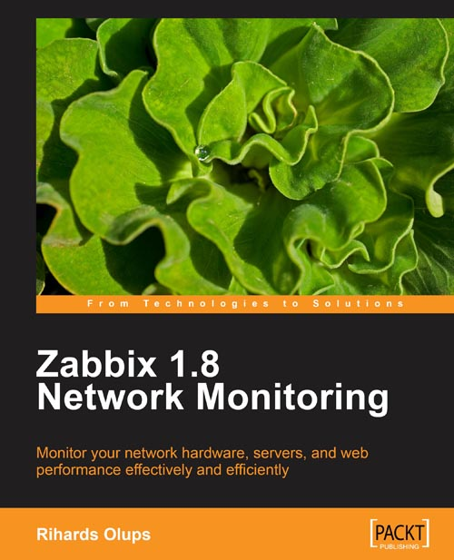Zabbix 1.8 Network Monitoring Cover Page