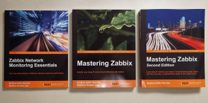 Mastering Zabbix First and Second Edition and Network Monitoring Essentials