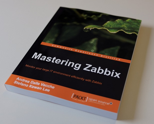 how it looks like the printed copy of the Mastering Zabbix book