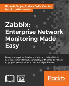 Zabbix: Enterprise Network Monitoring Made Easy Book
